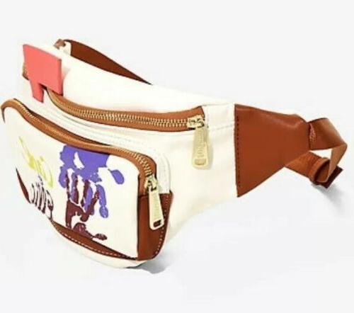Loungefly Ellie UP Mailbox Fannypack Exclusive Limited Edition New